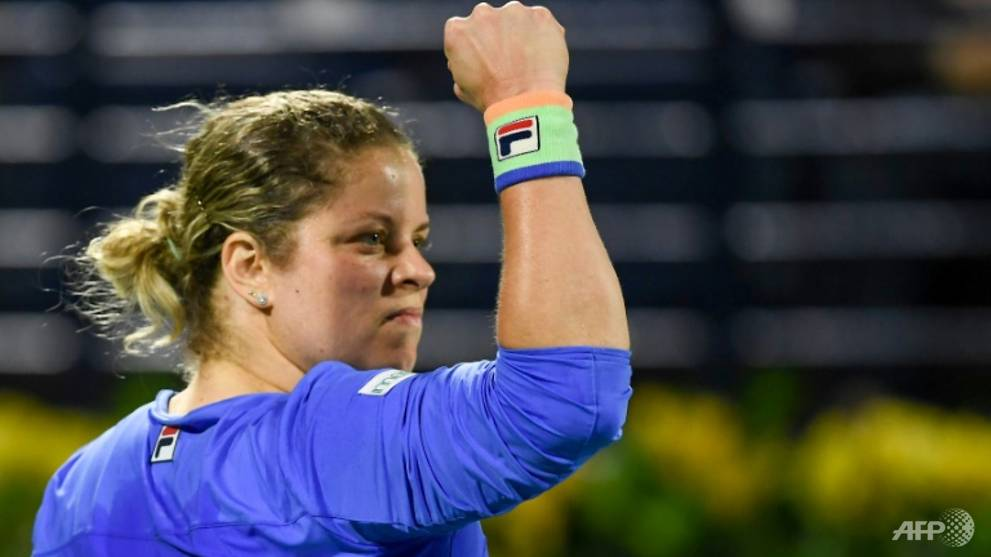 Tennis : Clijsters determined to press on with comeback