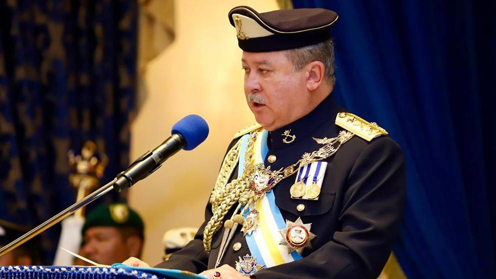 Johor sultan warns that he will dissolve state assembly if politicking continues