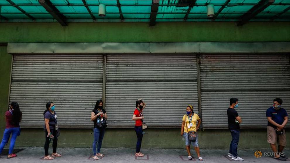 philippine capital slowly returns to life as government eases lockdown restrictions 6.'
