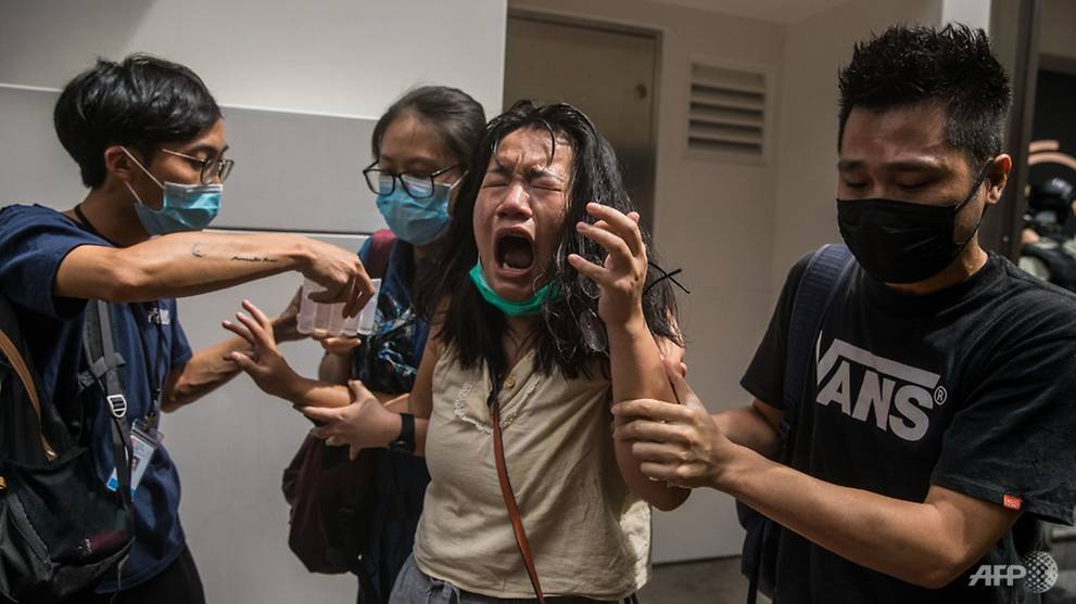 Hong Kong police arrest more than 300 protesting China's 'birthday ...