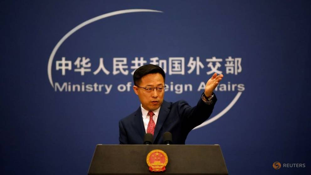 China rejects US criticism of military drills in South China Sea