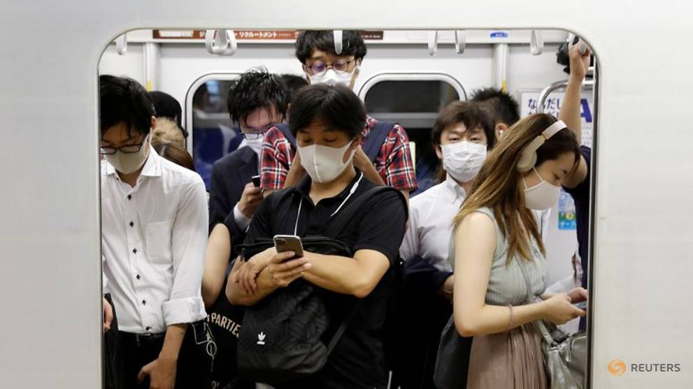 Japan supercomputer suggests changes to travel, work amid airborne COVID-19 threat