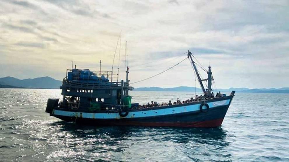 Twenty-four Rohingya refugees feared drowned off Malaysian resort island