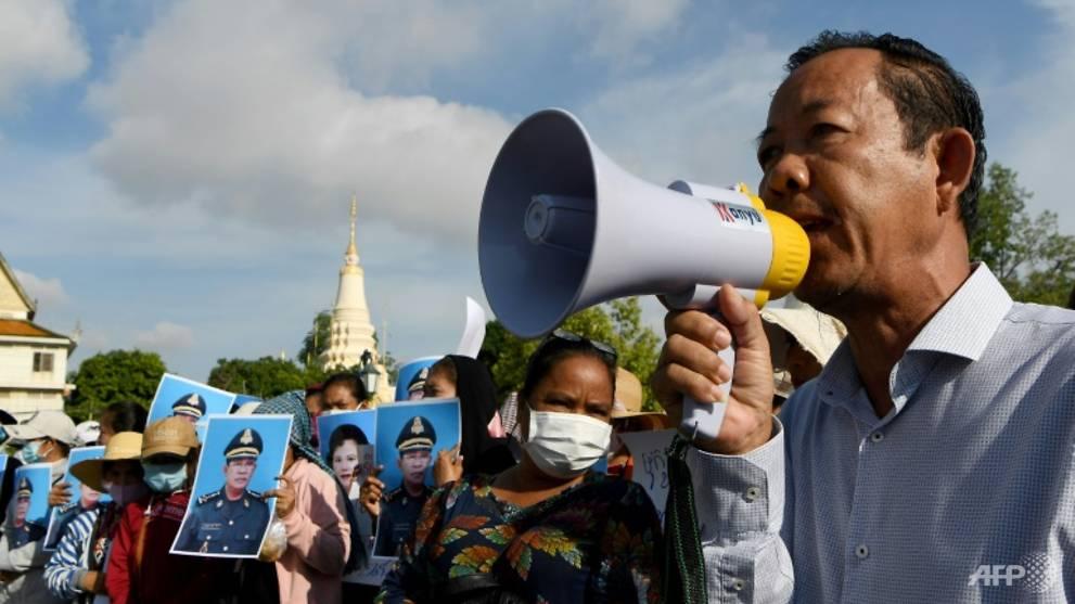Cambodia arrests prominent union leader for 'incitement'