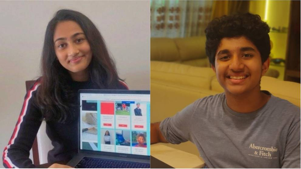 Inspired by COVID-19 restrictions, two 15-year-olds create free online learning platform for kids