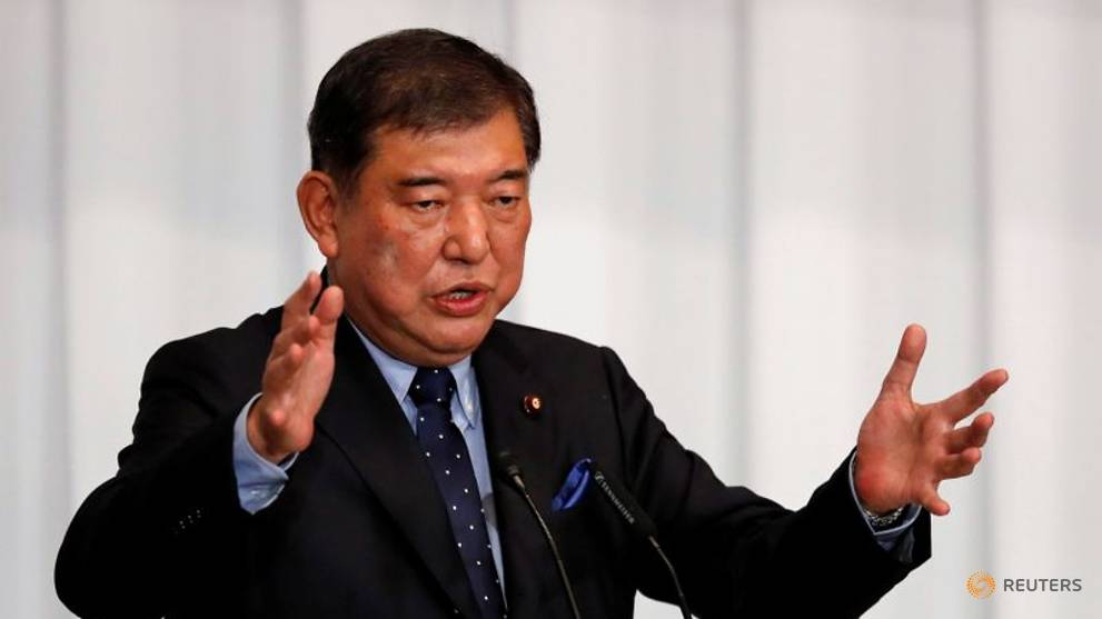 Ex-defence minister Ishiba is people's choice for next Japan PM: Polls