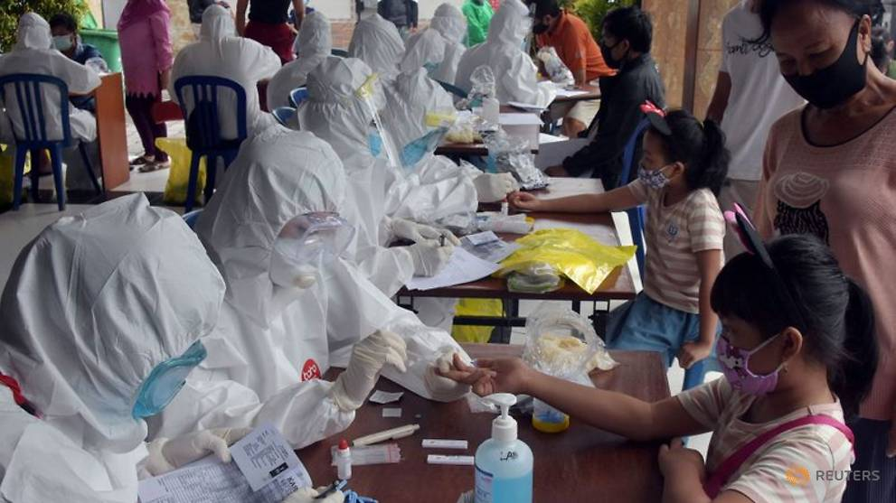 Indonesia reports its biggest daily rise in COVID-19 infections