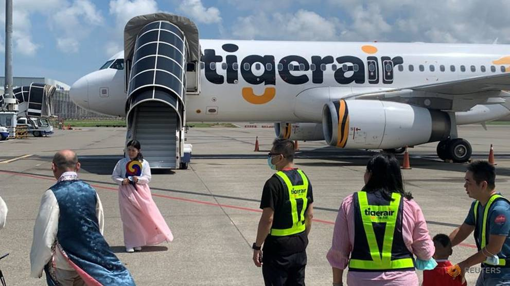 Taiwan travellers take sightseeing 'flight to nowhere'