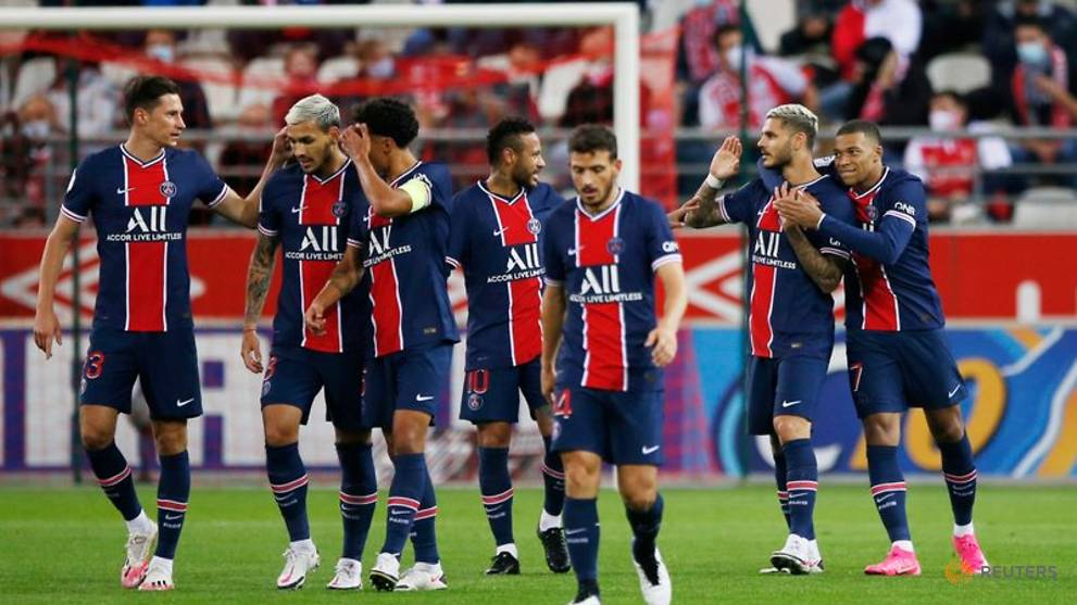Football: Icardi double gives PSG 2-0 win at Reims
