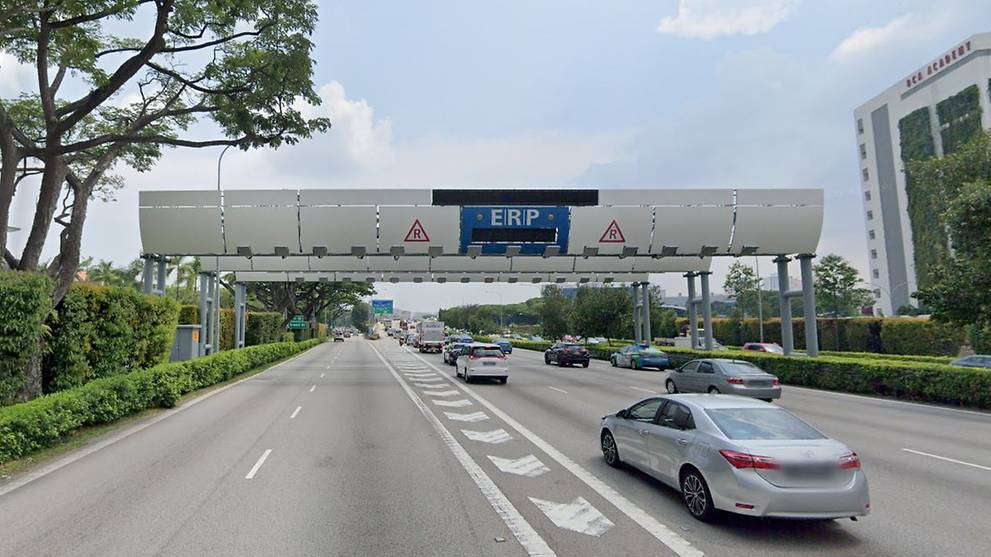 ERP charges to rise at 6 CTE gantries during peak periods ...