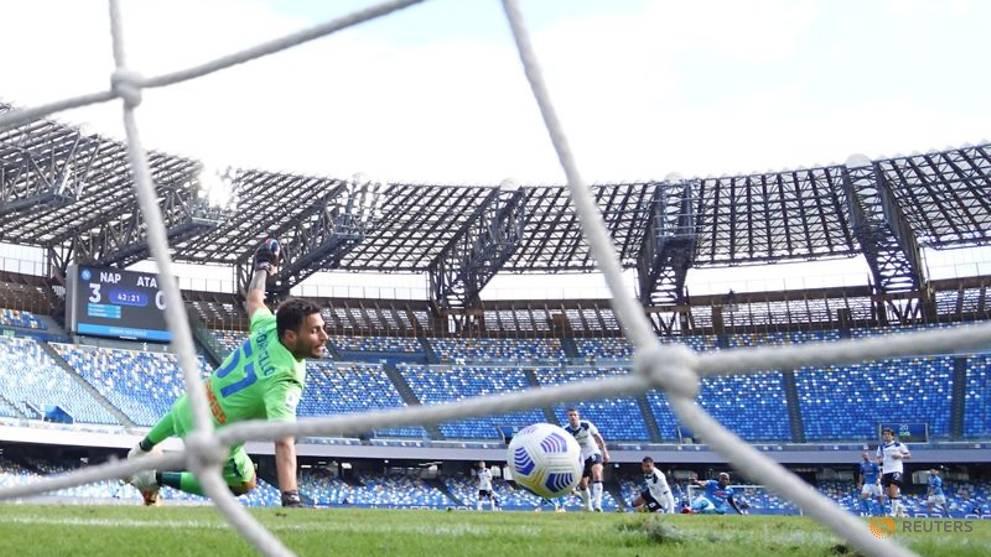 Serie A, Napoli-Atalanta 4-1: azzurri inarrestabili al San ...  |Napoli- Atalanta