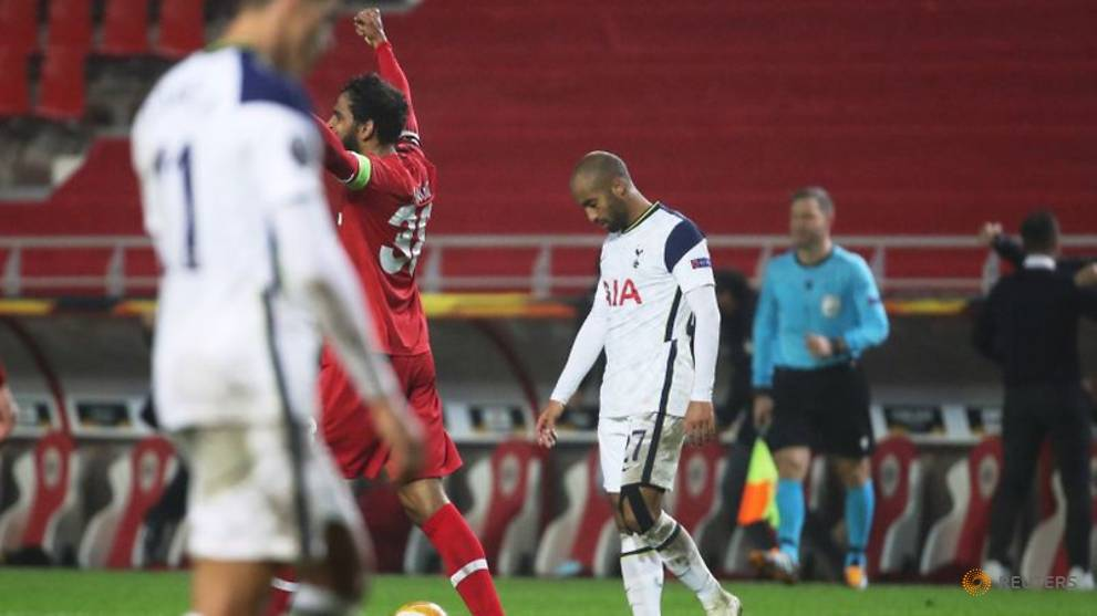 Football: Antwerp upset Spurs to go top of Europa League ...  |Antwerp- Tottenham