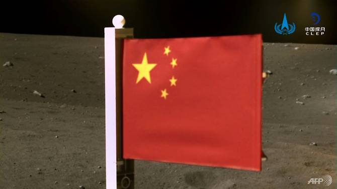 News Burst 7 December 2020 - Chinese Flag