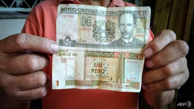 Bald gibt es nur den oberen der beiden Pesos | Bildquelle: https://t1p.de/1jvu © AFP/Adalberto ROQUE | Bilder sind in der Regel urheberrechtlich geschützt