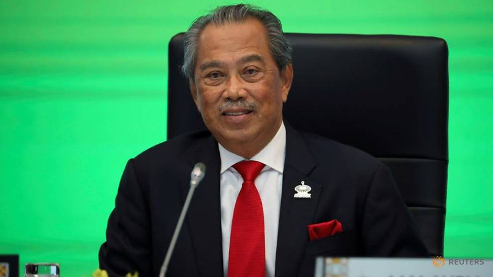 Image Malaysia PM Muhyiddin reiterates that he will advise king to dissolve parliament once pandemic is over
