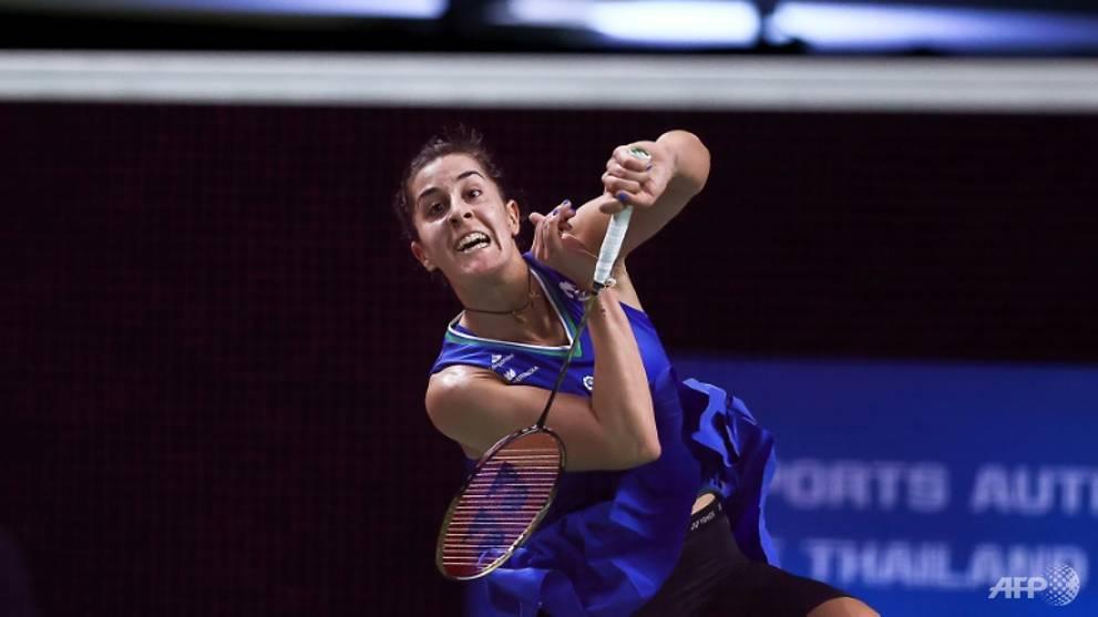 Badminton: Spain's Marin clinches spot in Thailand Open final
