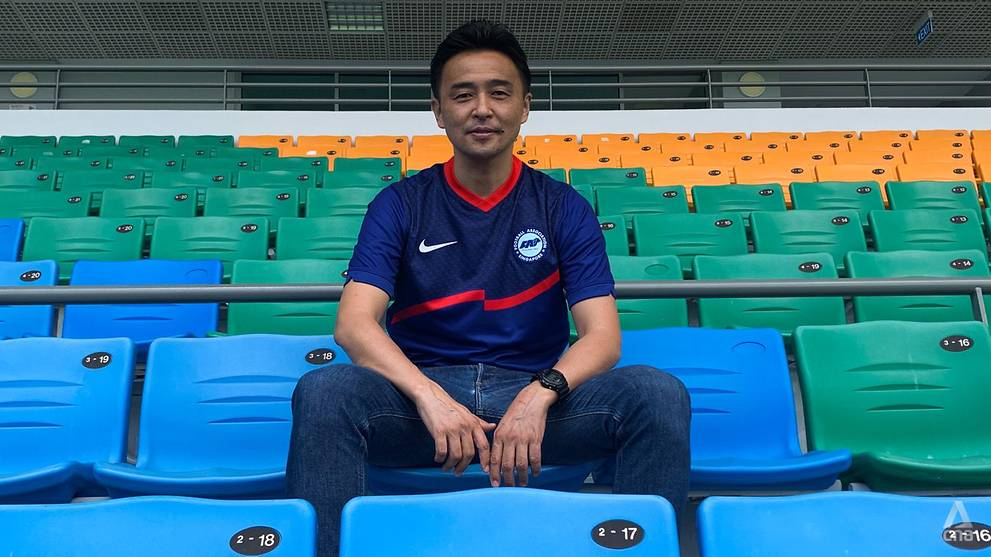 Football: Singapore's head coach Yoshida wants players to perform without fear