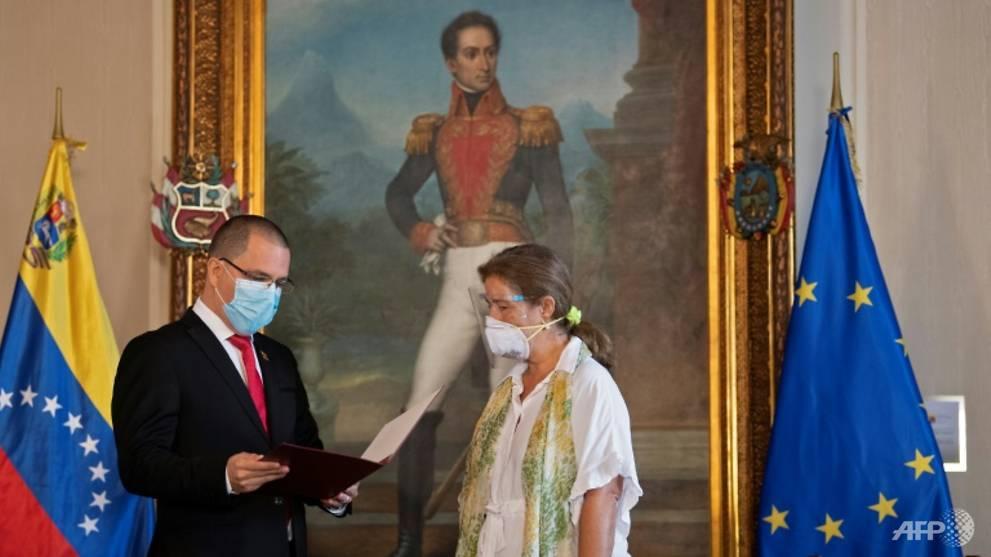 Venezuela expels EU ambassador over fresh sanctions