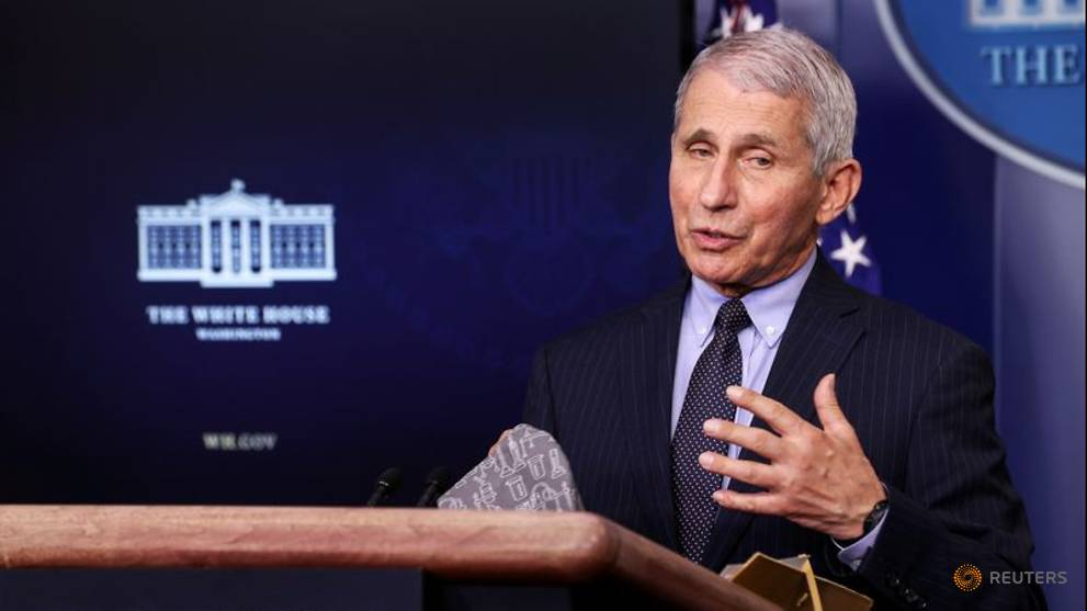 Fauci urges Americans to get any of the 3 COVID-19 vaccines available