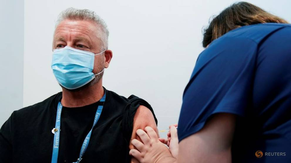 Australia sees no concern with pace of COVID-19 vaccination drive