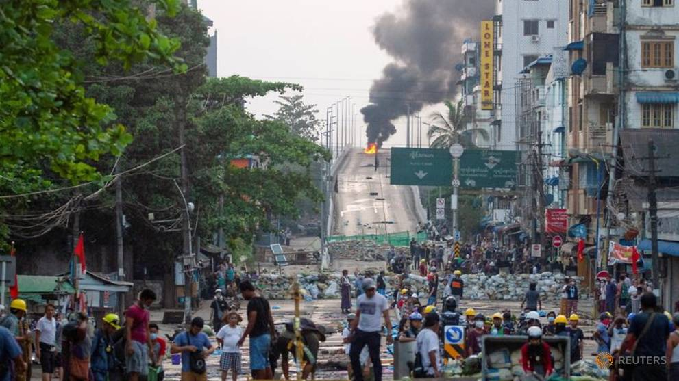 Russia warns Myanmar sanctions could spark 'full-blown civil conflict' - CNA