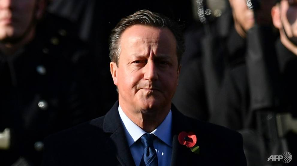 'Lessons to be learned' over UK lobbying row: Ex-PM Cameron