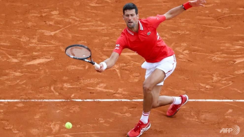 Tennis: Djokovic silences Sinner on Monte Carlo return