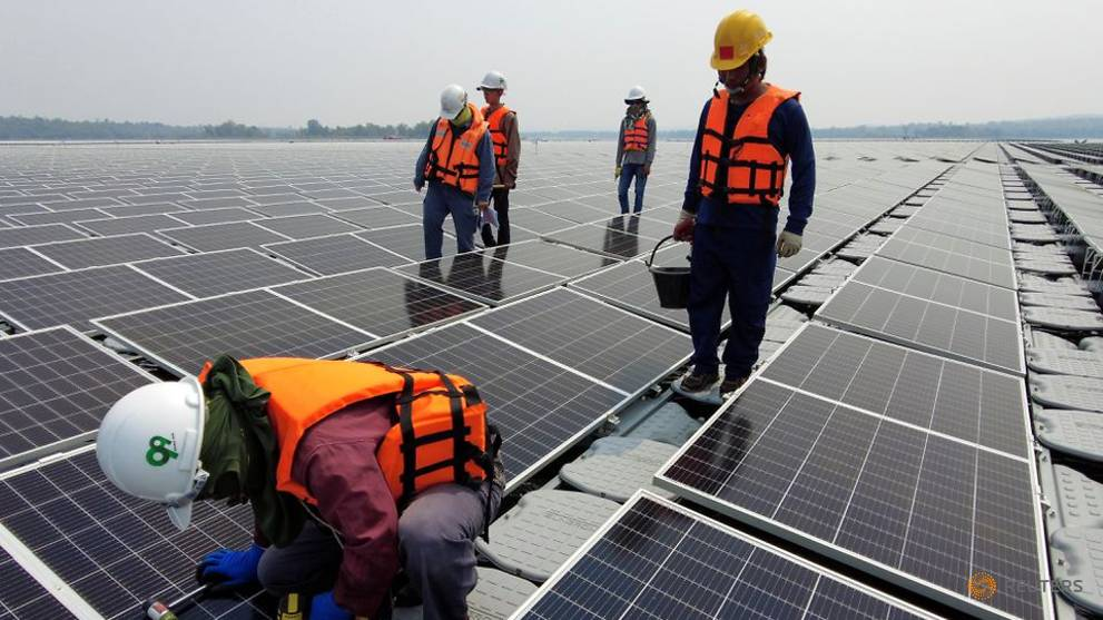 Thailand is floating hydro-solar projects for its dams as a supplement to fossil fuels