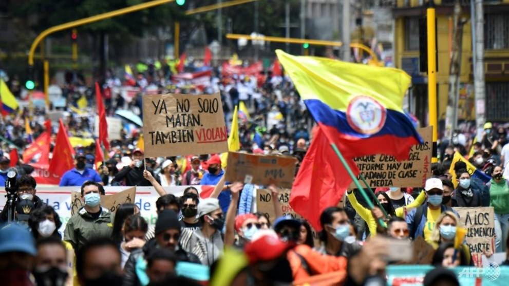 Colombians keep protesting even after unpopular tax plan is axed