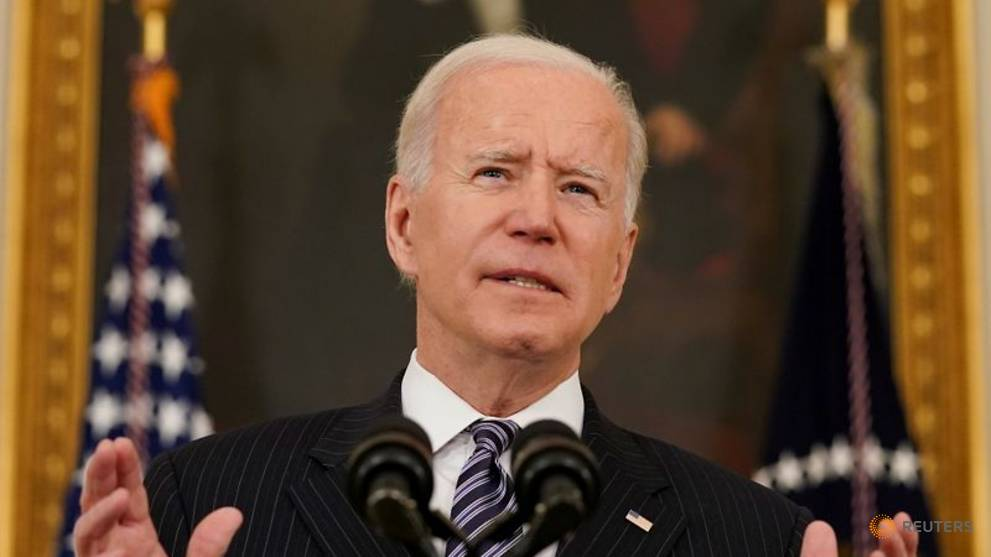 Biden wants 70% adults to have first COVID-19 shot by Jul 4