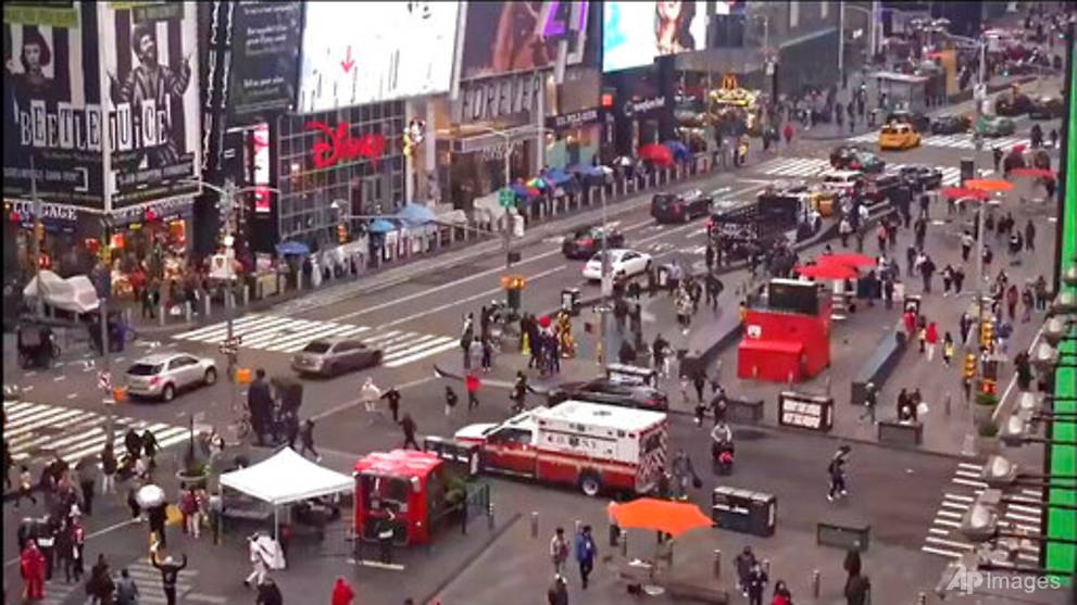 Times Square gun victim: I screamed 'I don't want to die'