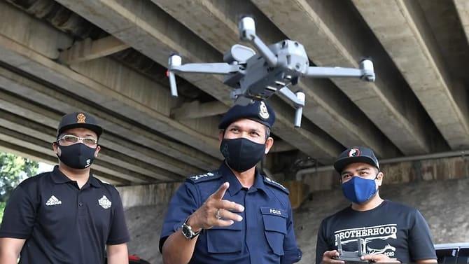 Malaysia: Drohnen überwachen die Körpertemperatur der Bevölkerung – bei erhöhter Temperatur kommen die Einsatzkräfte