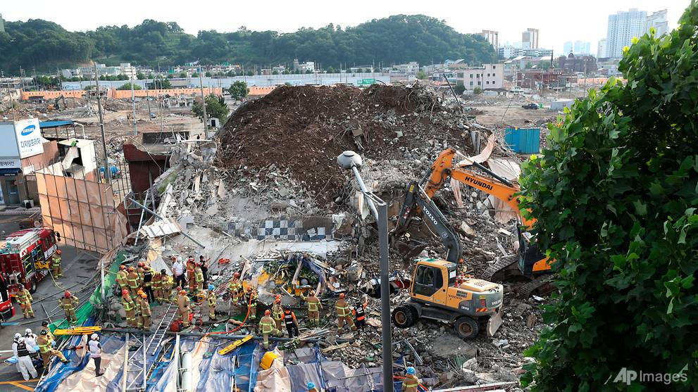 9 dead after building collapses in South Korea: Reports