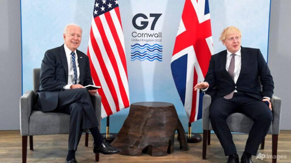 Johnson dari Inggris memuji Biden sebagai 'udara segar yang besar'