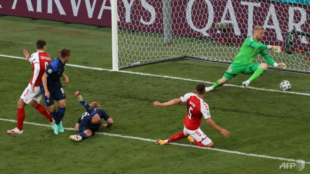 Football: Finland snatch Euro win over Denmark after Eriksen collapse drama