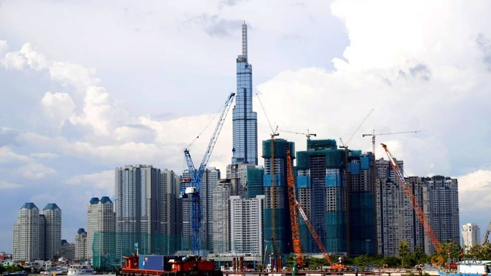 file photo  vinhomes central park and landmark 81  vietnam s tallest building are seen from the saigon river in ho chi minh city 3.