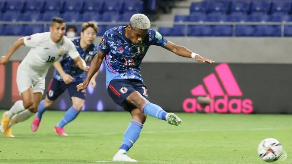Football: Onaiwu bags six-minute hat-trick as Japan crush Kyrgyz Republic