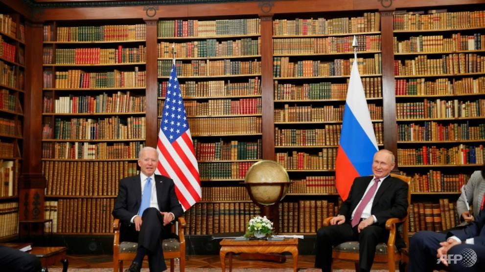 Little warmth despite the heat at Biden-Putin summit