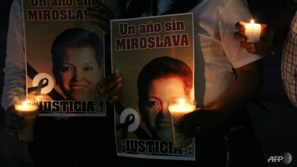 Ex-mayor jailed for 8 years over Mexican journalist's murder