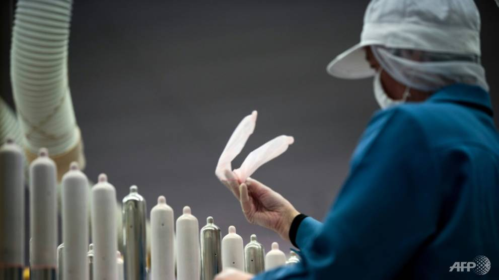 Japan condom-makers fear anticlimax at Olympics
