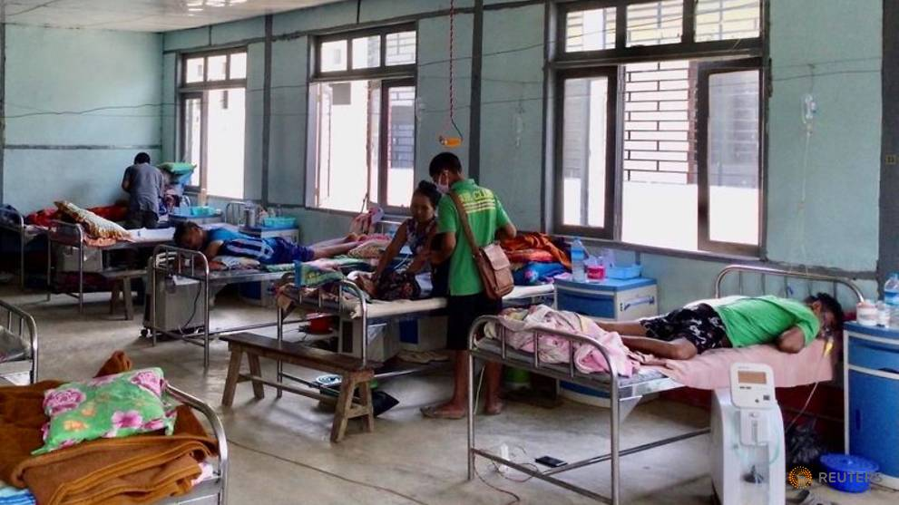 Myanmar's COVID-19 cases hit highest since coup