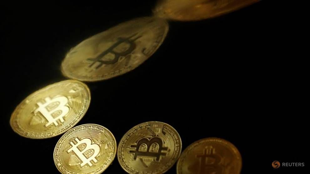Bitcoin dipped 8.57 per cent to US$32,540.35 at 2011 GMT on Monday, losing US$3,049.42 from its previous close.