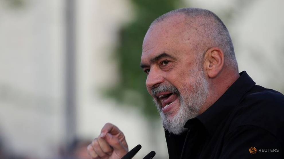 Albanian PM compares EU entry and Waiting for Godot