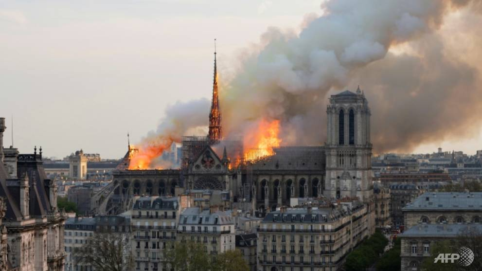Legal complaint over lead pollution from Notre-Dame fire