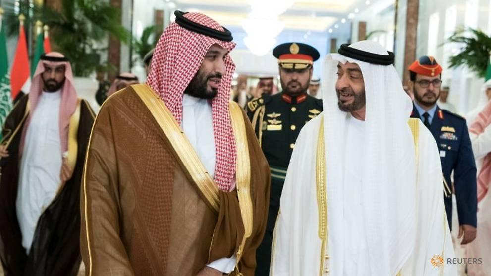 De facto UAE leader arrives in Saudi Arabia amid tensions