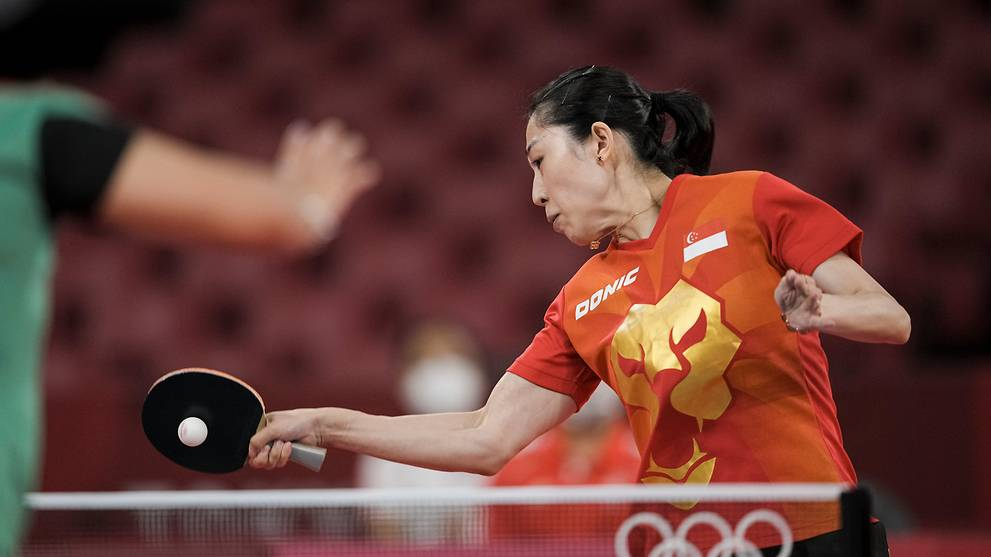 Table tennis: Yu Mengyu progresses to next round in Olympics after cruising to victory