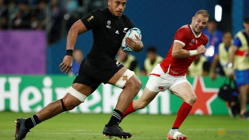 Rugby-All Blacks loose forward Frizell charged with assault - reports