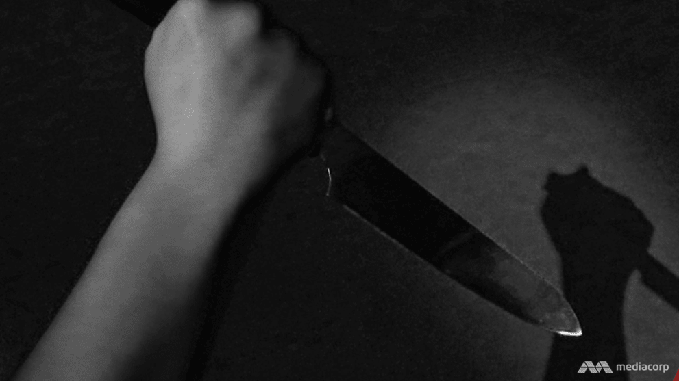 Jail for woman who threw kitchen knife at husband, slapped son to get husband to apologise