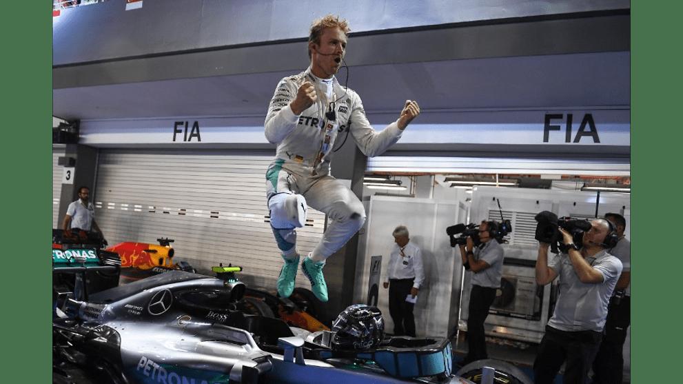 ada47858b97 Formula 1  Nico Rosberg wins Singapore GP - CNA