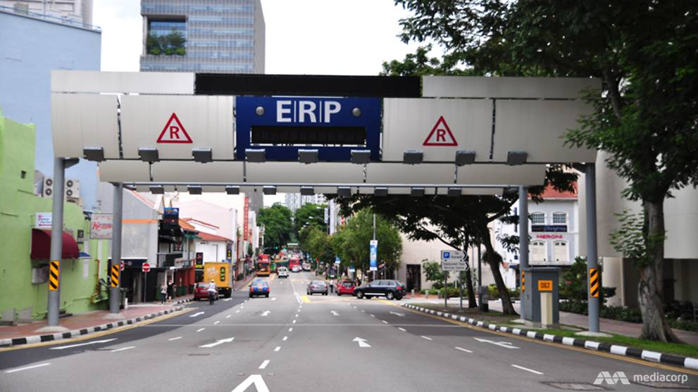 ERP charges to be suspended at all gantries alongside COVID-19 workplace closures